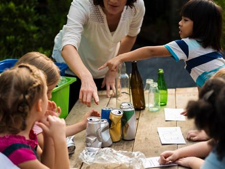 Projeto de Lei institui programa de reciclagem nas escolas de educação básica