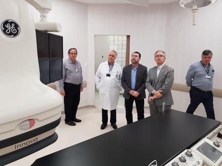 Deputado Federal David Soares visita Hospital da UNICAMP