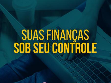 Suas finanças sob seu controle