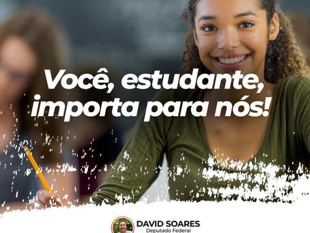 Estudante, você importa para nós!