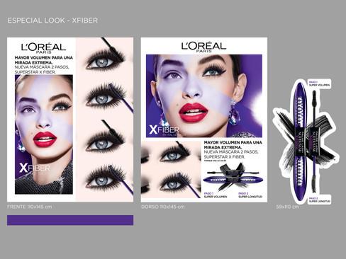 Tótem Maquillaje L'Oréal