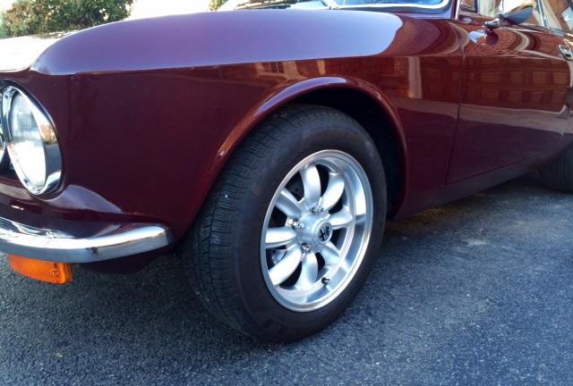Front Left Wheels