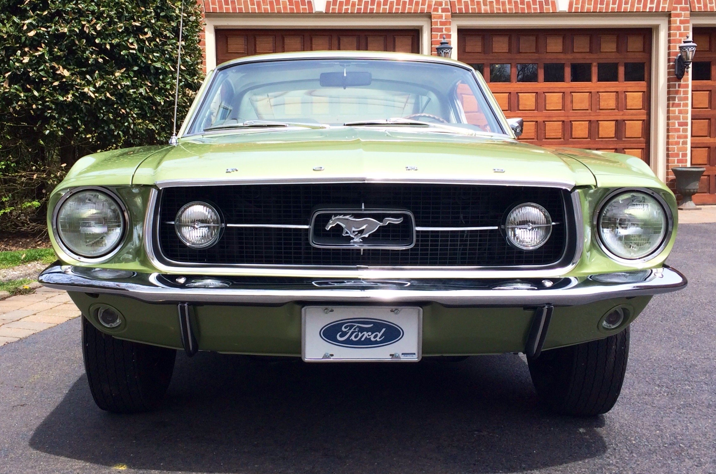 Numbers matching and oh so rare ford 1967 mustang