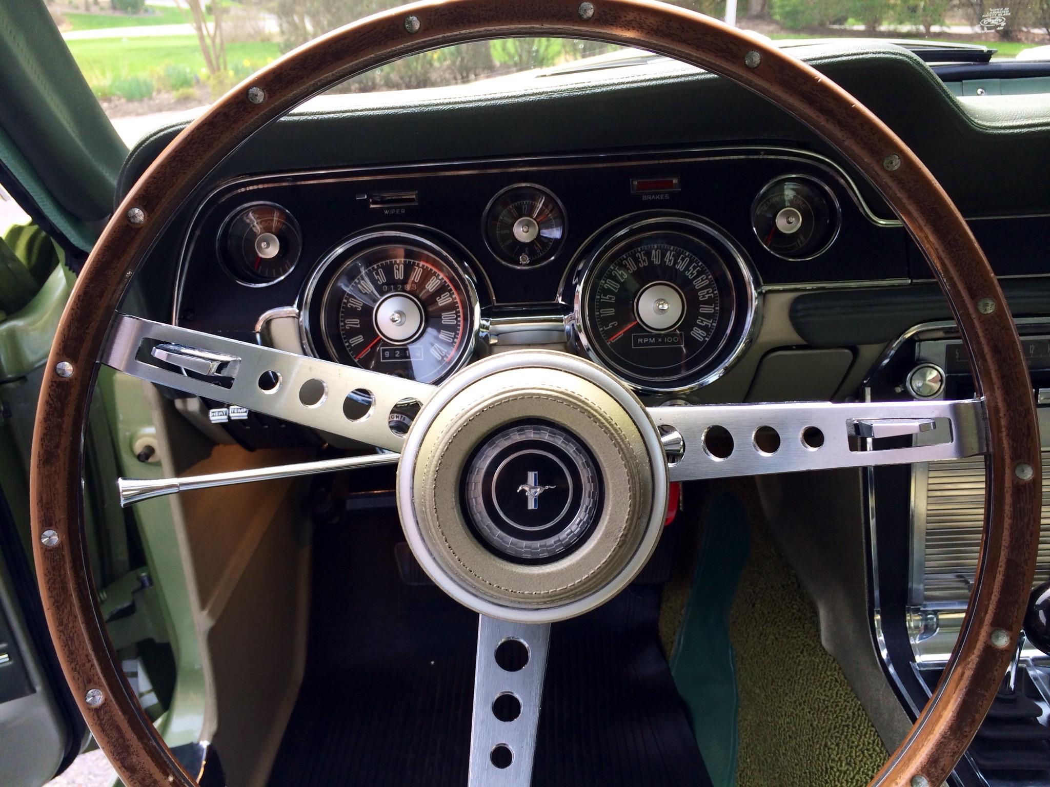 Steering Wheel Dash