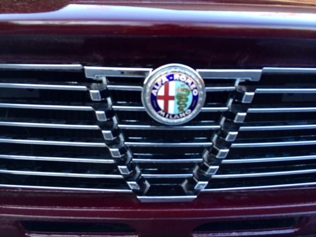 Front Alfa Romeo Emblem