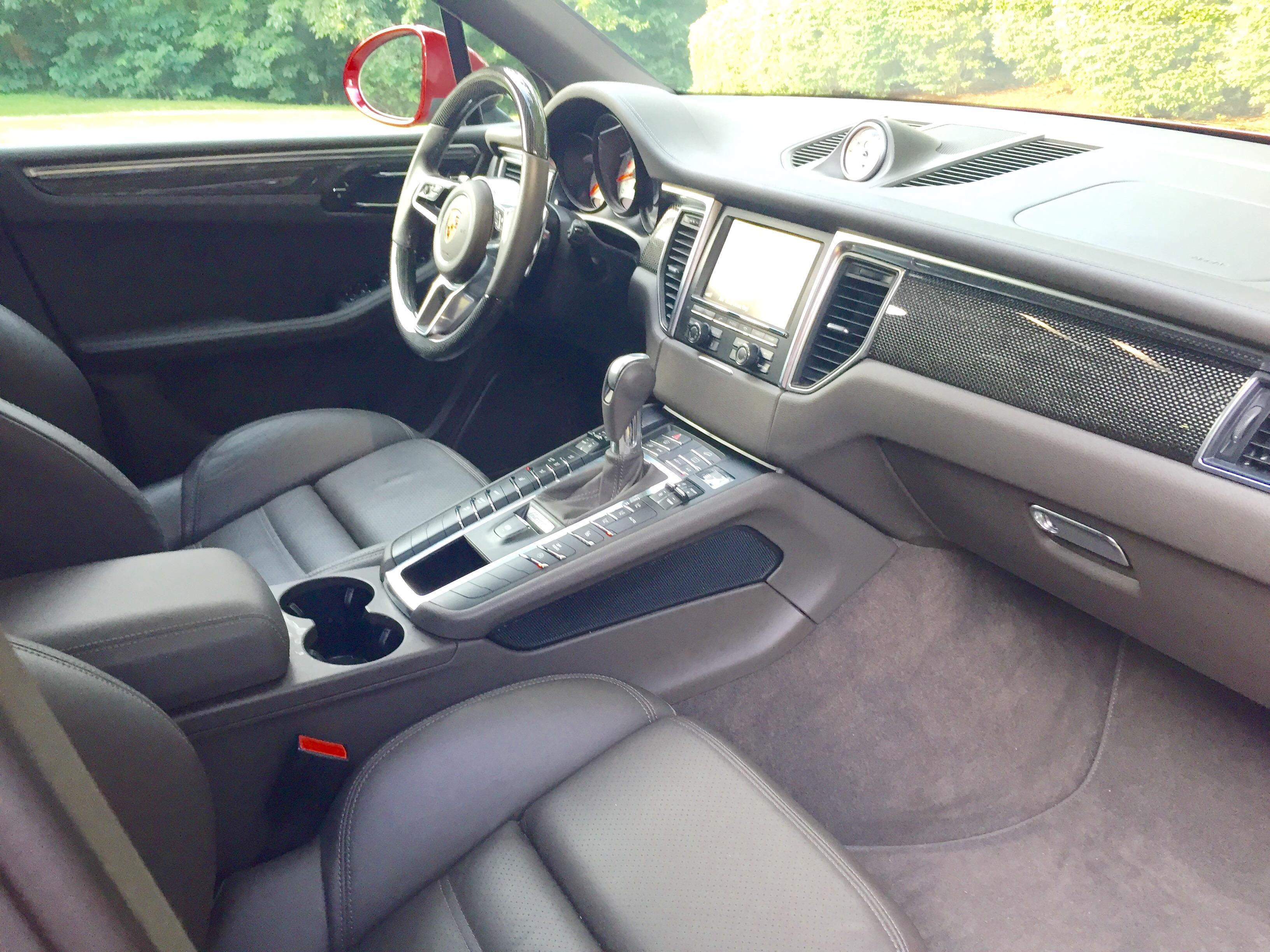 passenger interior