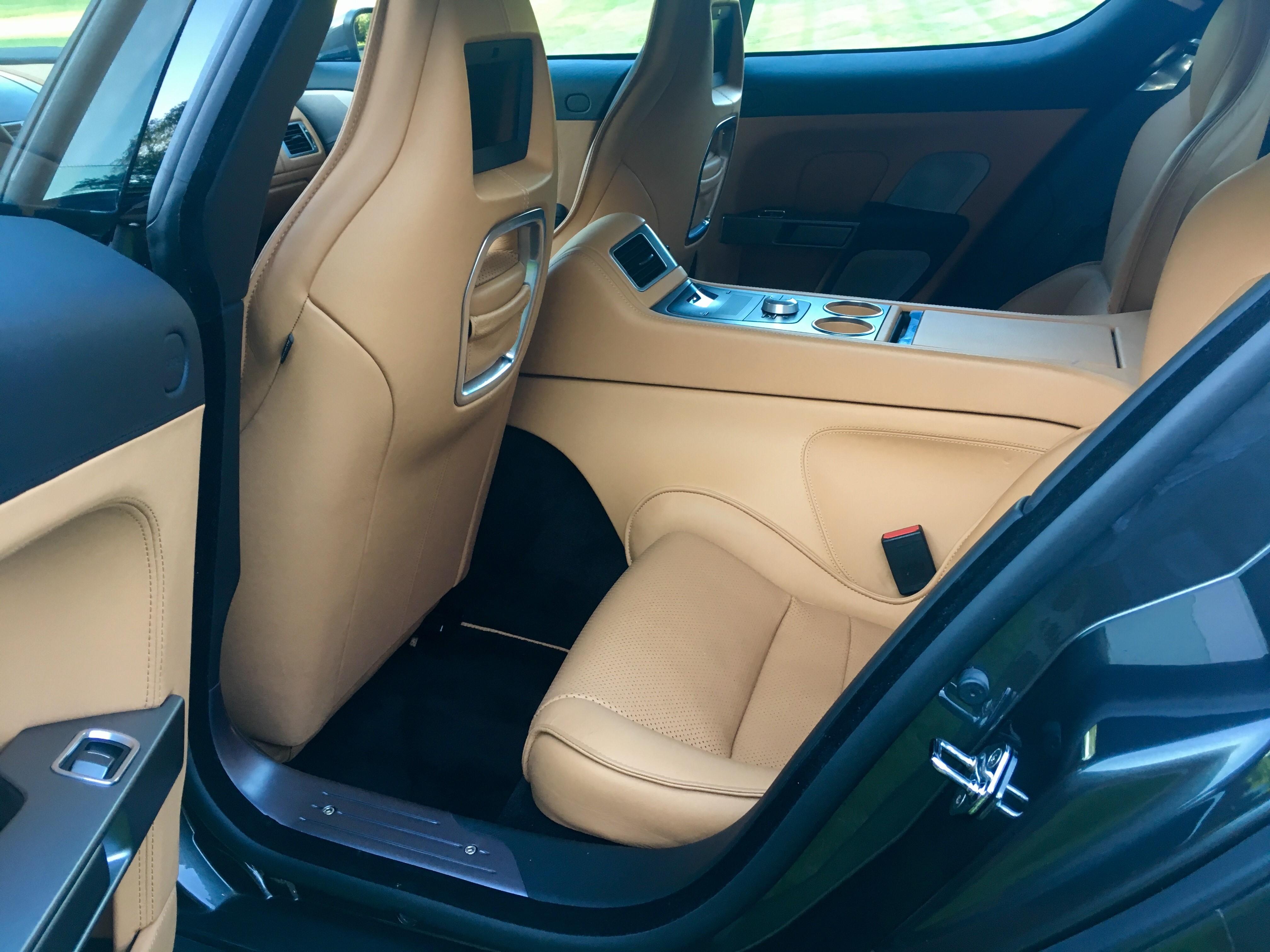 Interior Back Driver's Side
