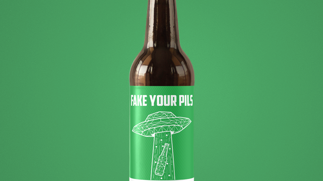Fake Your Pils (Golden Ale) 330ml