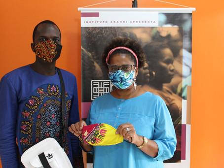 Senegaleses engajados na prevenção ao covid-19 em Porto Alegre - RS