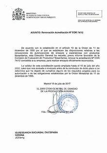 EOR - GEP certification_SL - 2017 - 2022