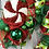 Thumbnail: Large Candy Cane Wreath