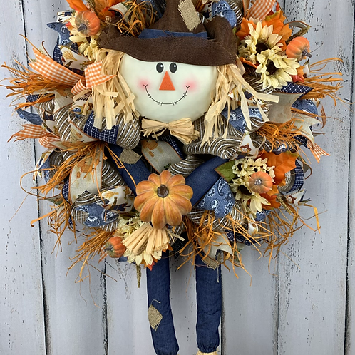 Mr Scarecrow Wreath
