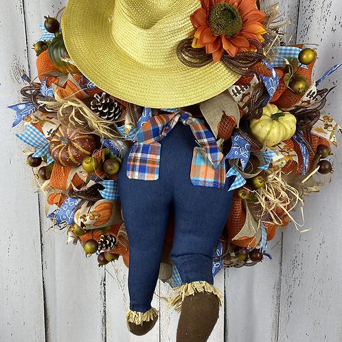 Fall Farmer Wreath