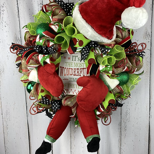 It's The Most Wonderful Christmas Wreath