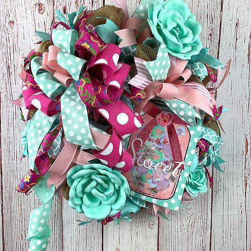 Sweet Tea Wreath