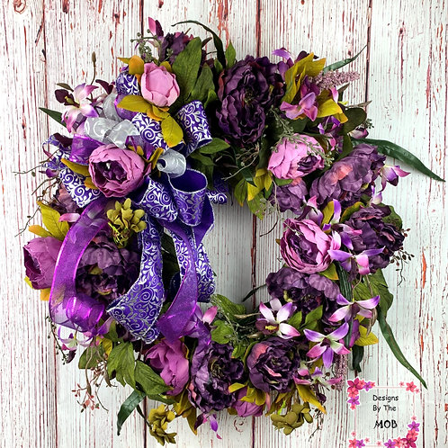 Purple Queen Wreath