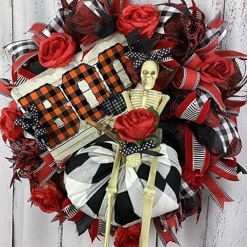 Mrs Bones wreath