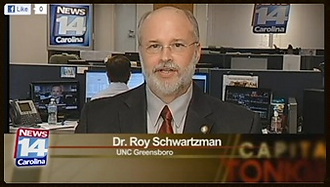 Dr. Roy Schwartzman on Spectrum News