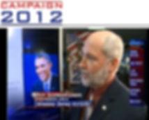 Roy Schwartzman analyzing 2012 Presidential debates (WFMY News 2 (CBS)