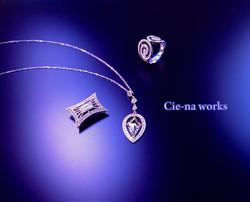 上質のダイヤモンドにはやはりプラチナがふさわしい。