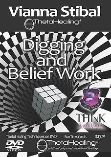 Digging & Belif Work DVD by Vianna Stobal