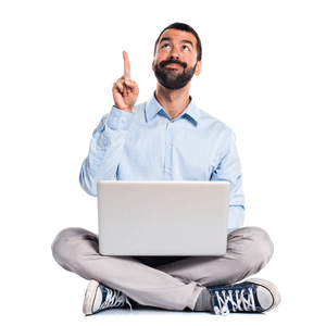Man with laptop pointing up 300x300.png