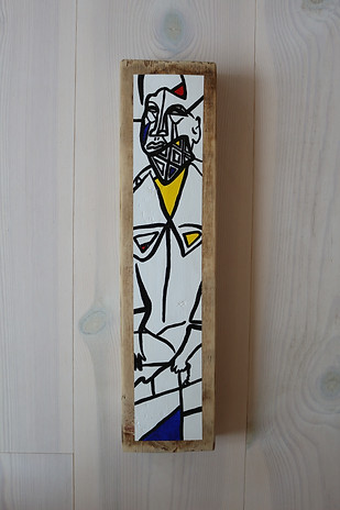 Ponctuated Warrior (sold)