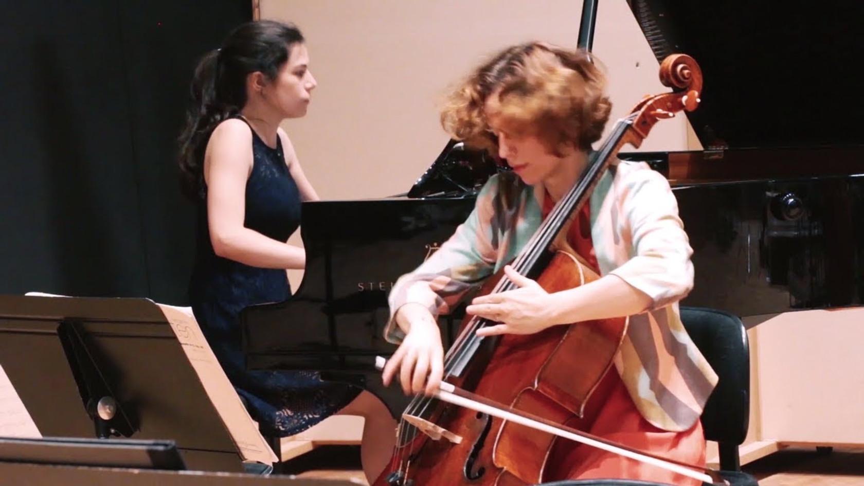 B. Britten - Sonata, Op. 65 - Duo Neria (Natacha Colmez-Collard, violoncelle - Camille Belin, piano)
