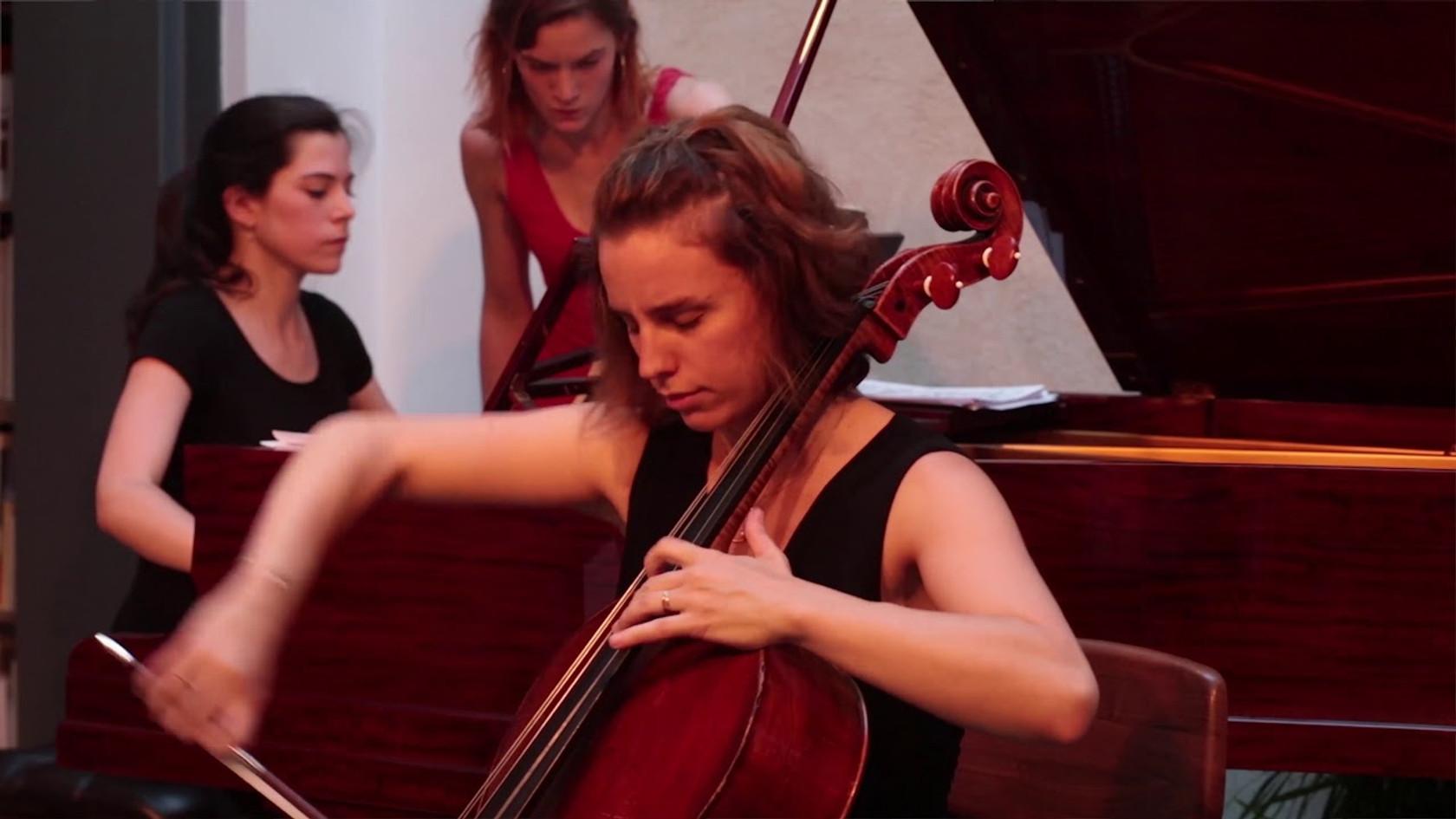 E. Grieg - Sonate (extrait) - Duo Neria (Natacha Colmez-Collard, violoncelle - Camille Belin, piano)