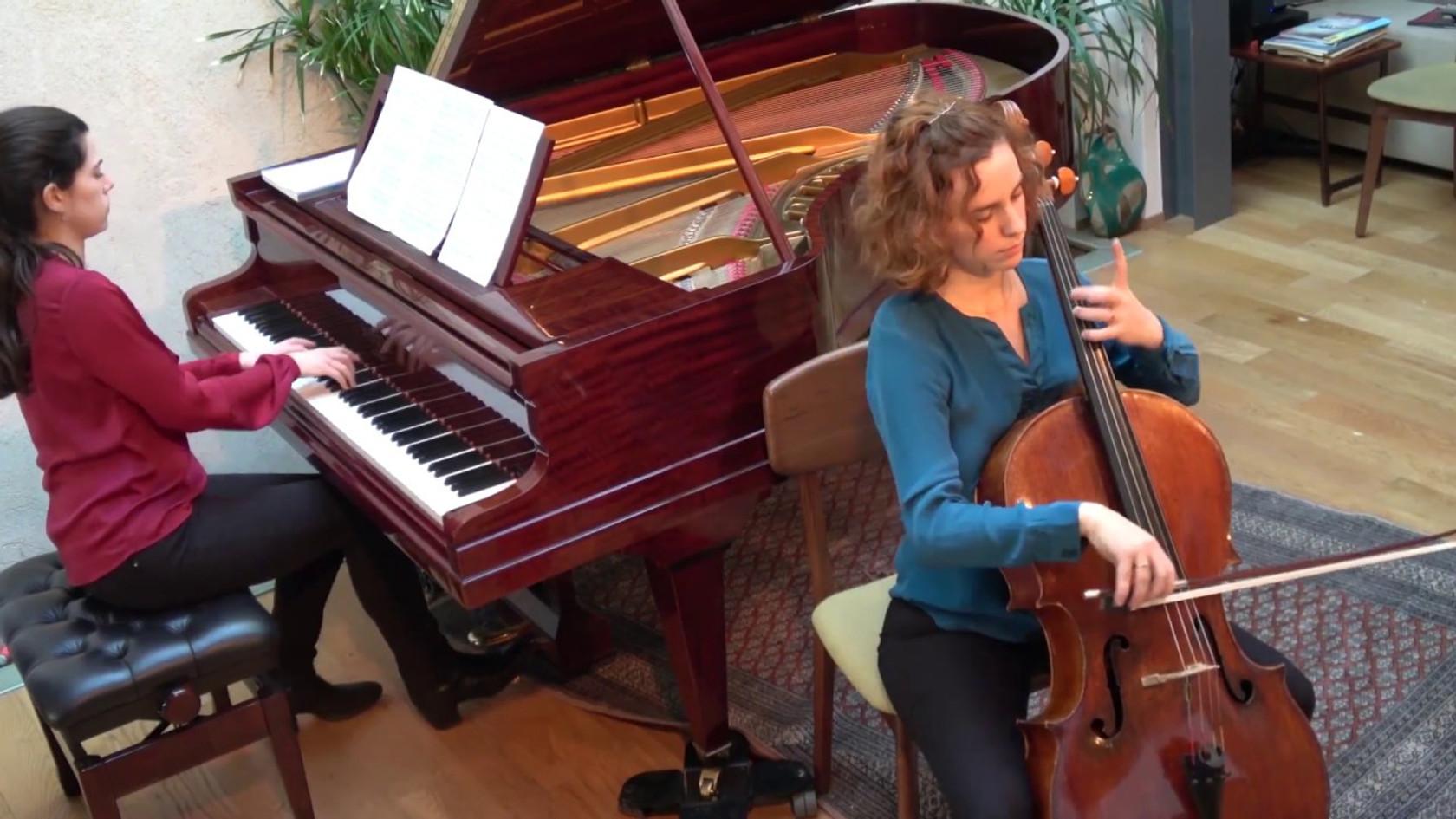 C. Franck - Sonate - Duo Neria (Natacha Colmez-Collard, violoncelle - Camille Belin, piano)