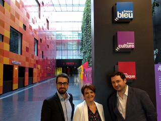Jury de l'examen annuel du 04 juin 2017 à laMaison de la radio (Paris 16e).
