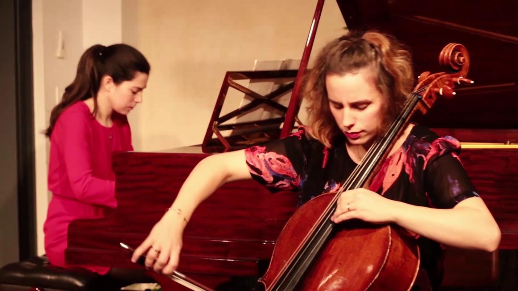 J. Brahms - Sonate Op. 38 - Duo Neria (Natacha Colmez-Collard, violoncelle - Camille Belin, piano)