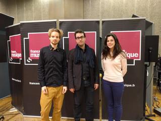 Jury de l'examen du 29 mai 2016 à laMaison de la radio