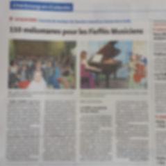 Duo Neria, article de presse