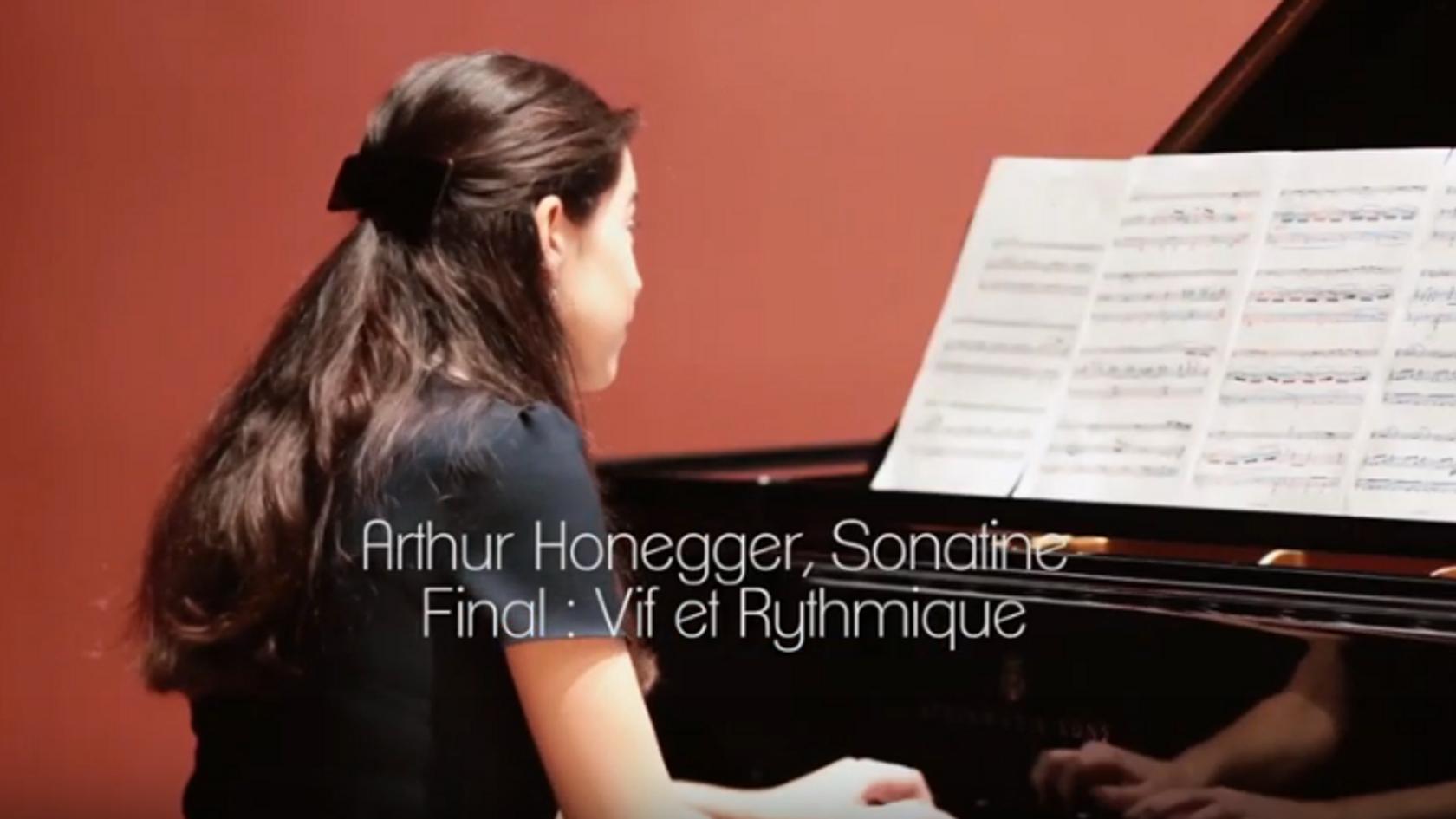 A. Honegger, Sonatine H. 42 - Duo Neria (Natacha Colmez-Collard, violoncelle - Camille Belin, piano)