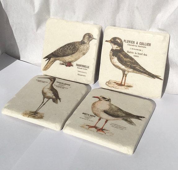 Resin Bird Coasters