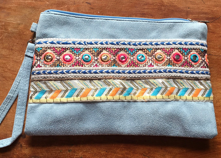 Stitched Aztec Purse