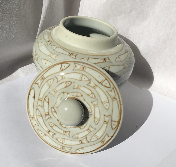 Greek Styled Ceramic Pot