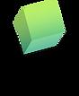 Yeşil transparan şekil