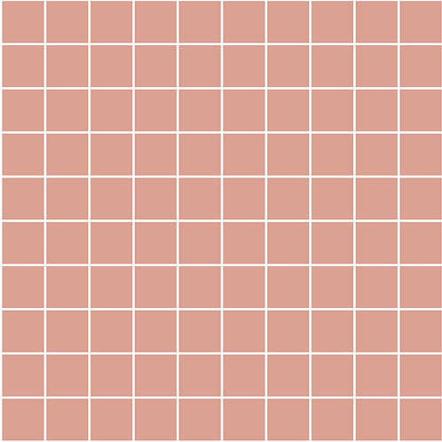 Grid peachrose