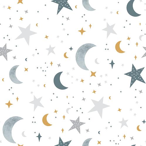 Stars grey/mustard