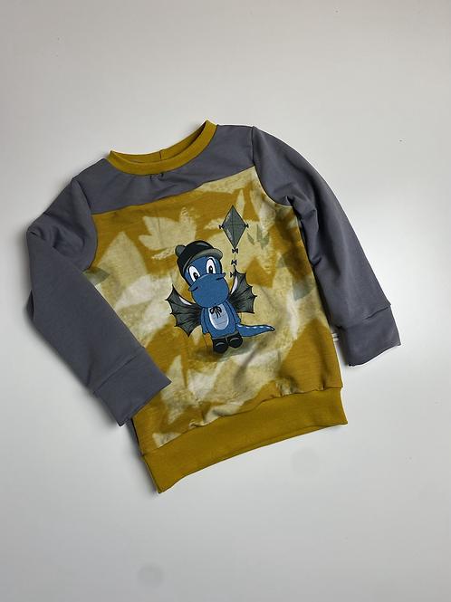 Sweater Drache Gr. 98