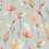Thumbnail: Watercolor Flowers dusty teal