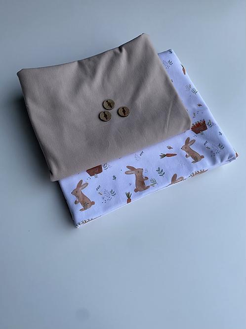 Stoffpaket Häschen & Möhre