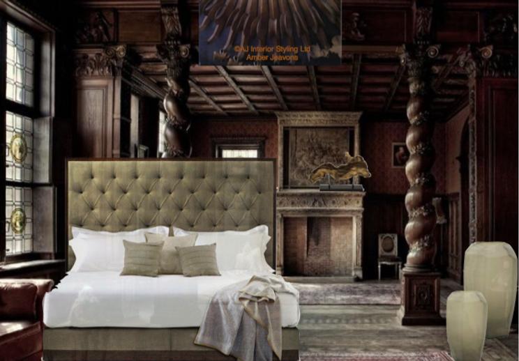 Savoir Bed Period Bedroom