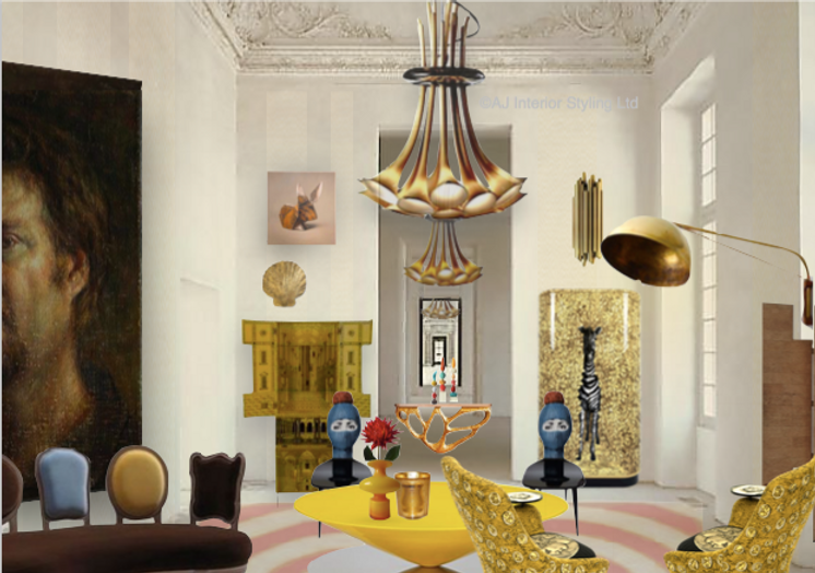 Bespoke Curated luxury interiors for the artistic home