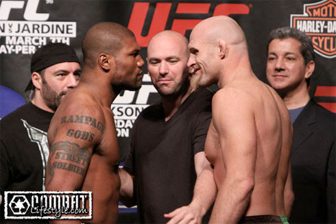 Keith Jardine and Quinton Rampage Jackson