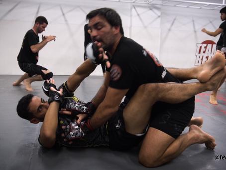 פתיחת גארד להתקפה יעילה ומפתיעה - Team Bert MMA