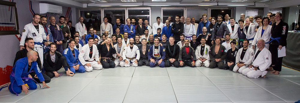 The whole team at the Belt Promotion Ceremony