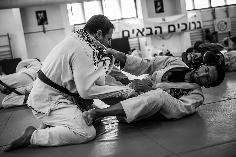 Brazilian Jiu Jitsu Sparring